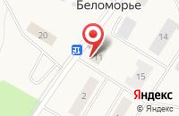Схема проезда до компании Почтовое отделение связи в Беломорье