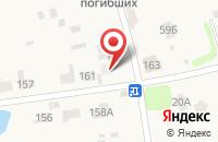 Схема проезда до компании МАКТЕКС в Беляницах