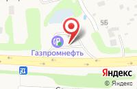Схема проезда до компании Газпромнефть в Беляницах