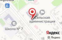 Схема проезда до компании Берёзка в Кировой