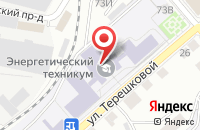 Схема проезда до компании Промват в Костроме