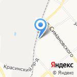 Зодчий на карте Костромы