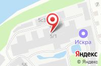 Схема проезда до компании Дикий камень в Костроме