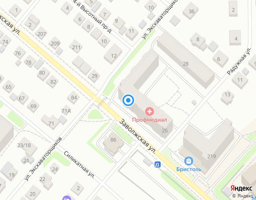 Управляющая компания «КФК-44» на карте Костромы