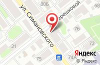 Схема проезда до компании Профит в Костроме