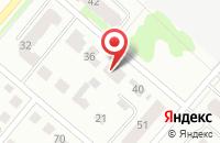 Схема проезда до компании Содружество-42 в Костроме