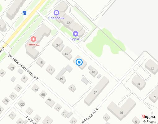 Товарищество собственников жилья «Содружество-42» на карте Костромы