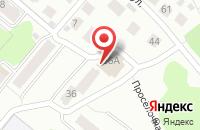 Схема проезда до компании Кавказ в Костроме