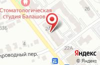 Схема проезда до компании Робот в Иваново