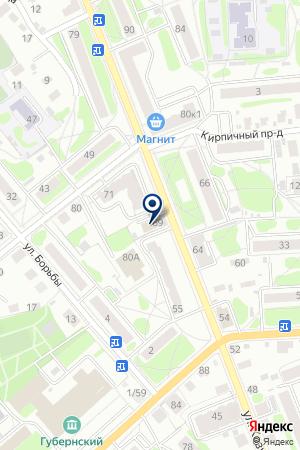 ГРУППА КОМПАНИЙ СПЕЦАВТОМАТИКА-СКК-АЛЬЯНС-ПРОФИ на карте Костромы