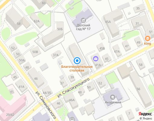 Товарищество собственников жилья «Спасокукоцкого, 41» на карте Костромы