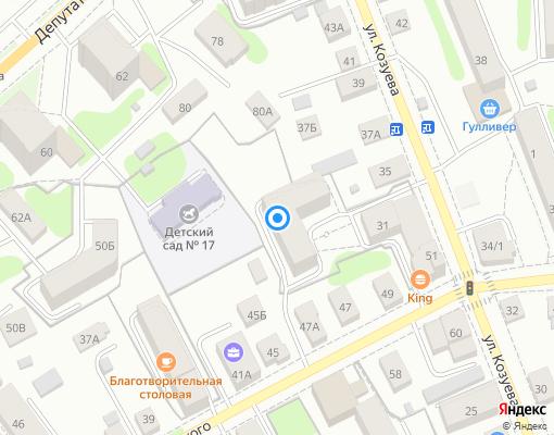 Товарищество собственников жилья «Спасокукоцкого 45а» на карте Костромы