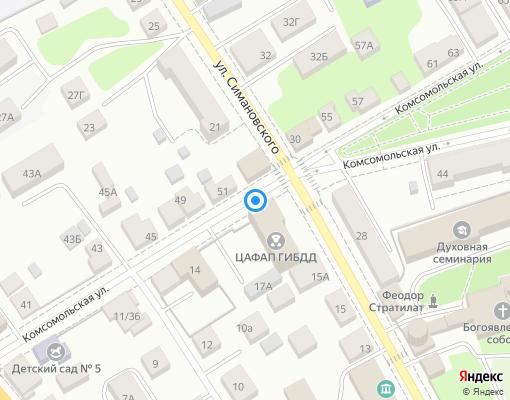 Товарищество собственников жилья «Семья» на карте Костромы
