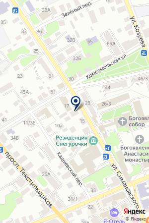 СТРАХОВАЯ КОМПАНИЯ АВТОГАРАНТ на карте Костромы