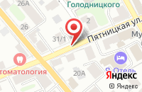Схема проезда до компании PUDRA в Костроме