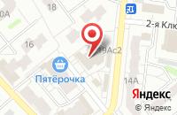 Схема проезда до компании Звезда в Иваново