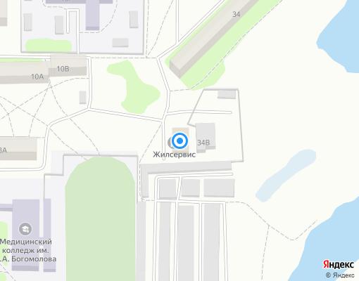 Управляющая компания «Жилсервис» на карте Костромы