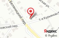 Схема проезда до компании Металобаза Курьяново в Беляницах