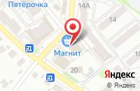 Схема проезда до компании Ритуал в Иваново