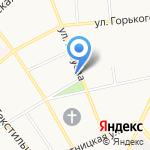 Ялма на карте Костромы