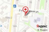 Схема проезда до компании Сеть бань в Иваново