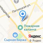 Чаровница на карте Костромы