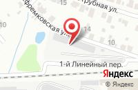 Схема проезда до компании ИВК в Иваново