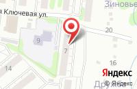 Схема проезда до компании Дзержинец-3, ЖСК в Иваново