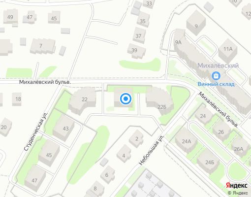 Товарищество собственников жилья «Михалевский» на карте Костромы