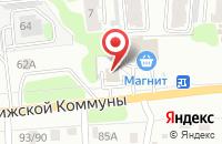 Схема проезда до компании Спецакб в Иваново