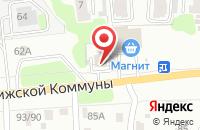 Схема проезда до компании Хадо в Иваново