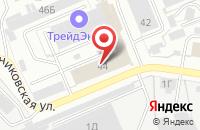 Схема проезда до компании Синяя Осока в Иваново