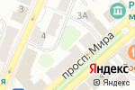 Схема проезда до компании Окна Сити в Костроме