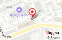 Схема проезда до компании Производственная компания в Иваново