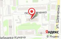 Схема проезда до компании Мастергласс в Иваново