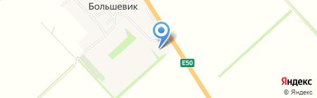 Бизон-Новокубанск на карте Большевика