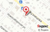 Схема проезда до компании Сибирские бани в Иваново