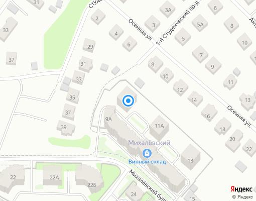 Товарищество собственников жилья «МИХАЛЕВСКИЙ 9» на карте Костромы