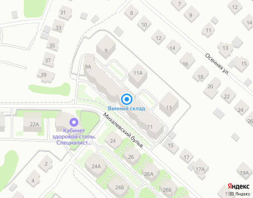 Товарищество собственников жилья «МИХАЛЕВСКИЙ 11» на карте Костромы