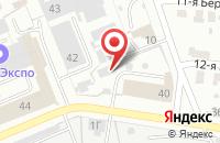 Схема проезда до компании Сахара в Иваново