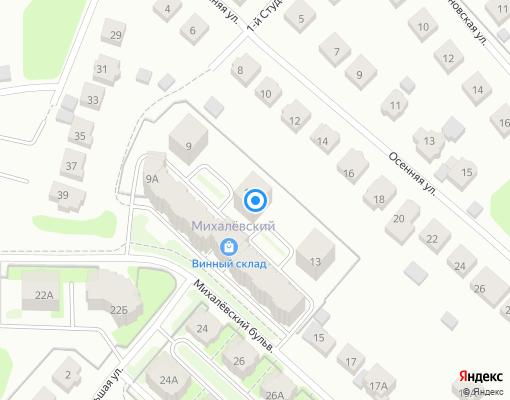 Товарищество собственников жилья «МИХАЛЕВСКИЙ 11 А» на карте Костромы