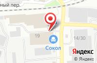 Схема проезда до компании Сокол в Иваново