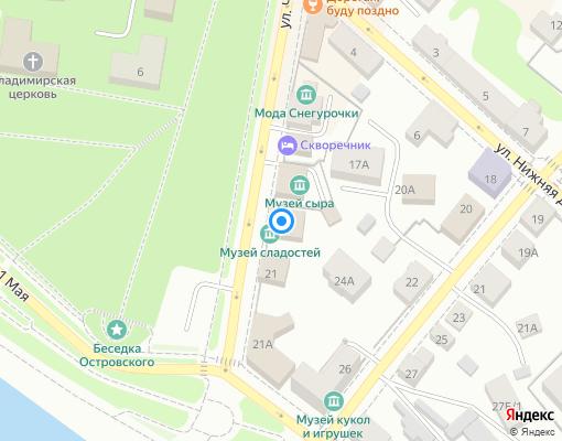 Управляющая компания «Мегаполис» на карте Костромы