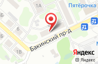 Схема проезда до компании Салон-парикмахерская на Бакинском проезде в Иваново