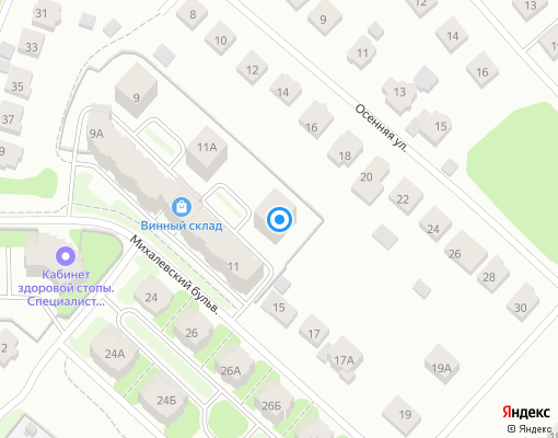 Товарищество собственников жилья «МИХАЛЕВСКИЙ 13» на карте Костромы