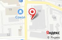 Схема проезда до компании Роникон в Иваново