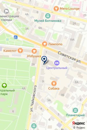 АПТЕКА № 1 на карте Костромы