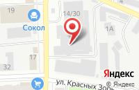 Схема проезда до компании ЦентроМебель в Иваново