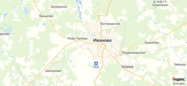 121 автобус в Иваново