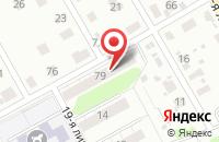 Схема проезда до компании Марго в Иваново